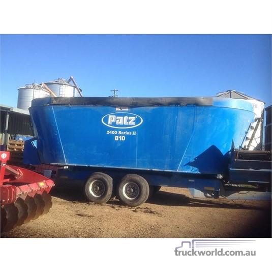 0 Patz 810 Farm Machinery for Sale