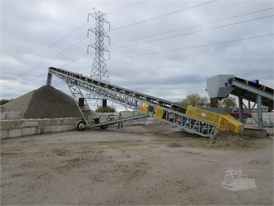 ROCK SYSTEMS Conveyor / Feeder / Stacker Aggregate Equipment For