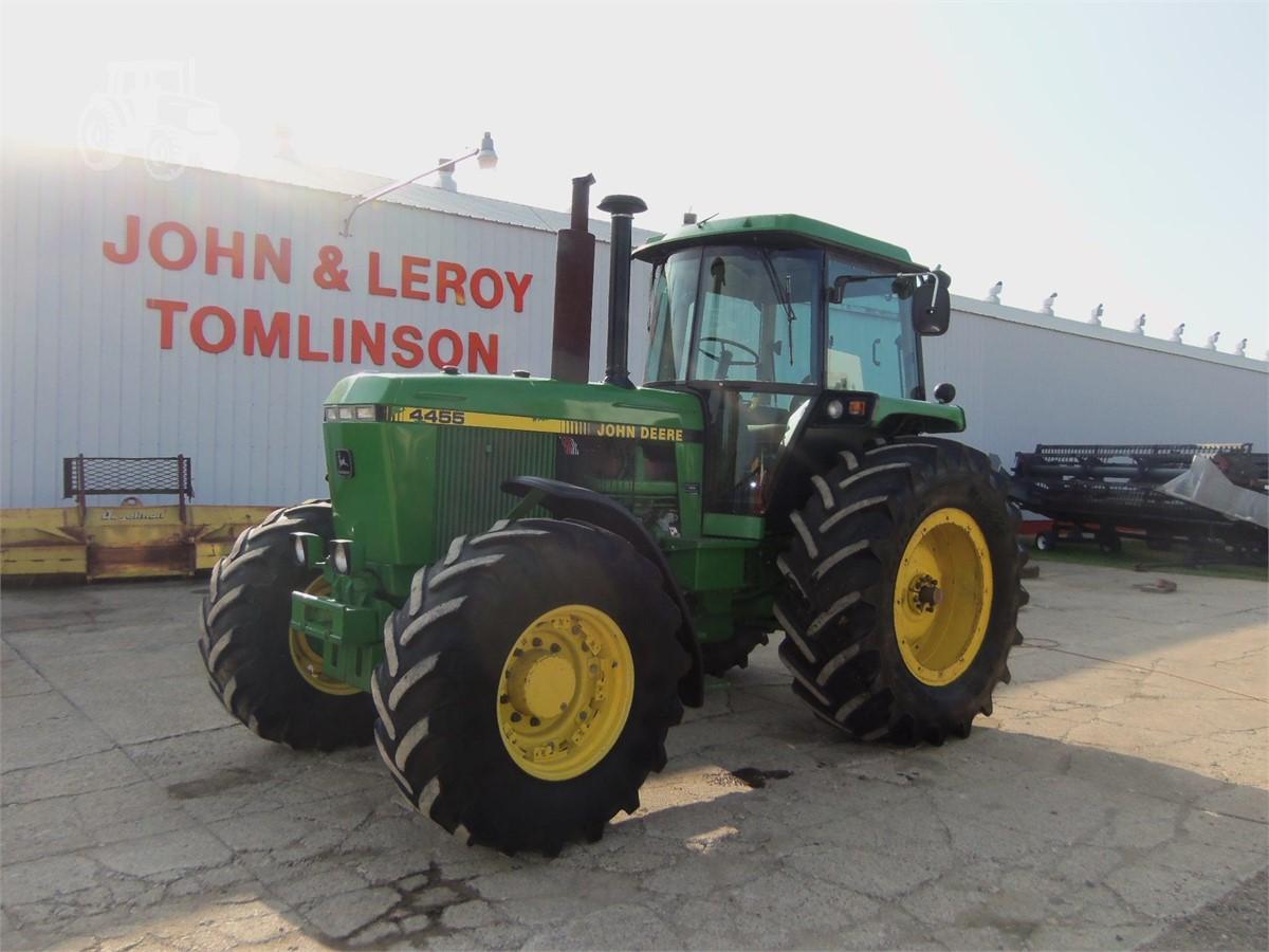 1992 John Deere 4455 For Sale In Marlette Michigan Www