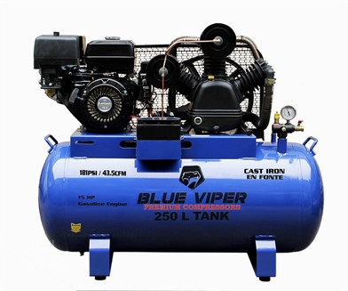 BLUE VIPER NEW 66 GAL 15HP E-START AIR COMPRESSOR VPR15HP