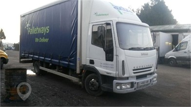Used IVECO EUROCARGO 75E15 Curtain Side Trucks for sale in
