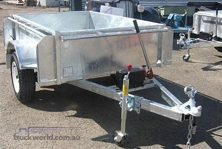 2018 EGR Single Axle Tipping Trailer - Trailers for Sale