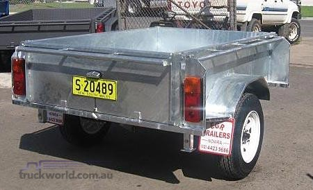 2018 EGR Single Axle Tipping Trailer - Truckworld.com.au - Trailers for Sale