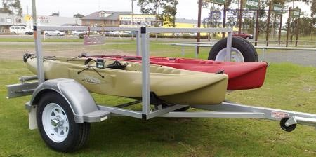 2018 EGR Kayak Trailers Trailers for Sale