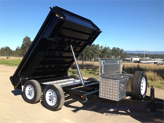 2018 EGR Tandem Box Tipper Trailers for Sale