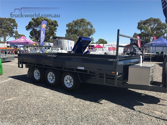 2018 EGR Triaxle Flat Top Trailers for Sale