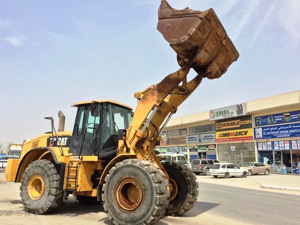2007 CAT 972H For Sale In Al Rawaiyah 3, DUBAI United Arab
