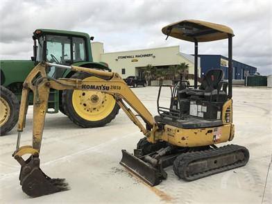 KOMATSU Mini (Up To 12,000 Lbs) Excavators Auction Results