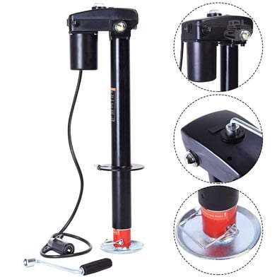 CWS New 3500 Lbs Electric Trailer Rv Boat Jack Ej3500a