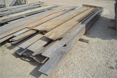 BUNDLE OF 1X8 PINE BOARDS (490 BF) Other Auction Results - 1