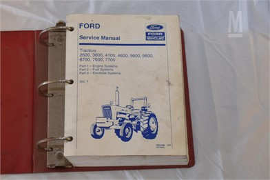 Ford Manuals Auction Results - 2 Listings | MarketBook co tz - Page