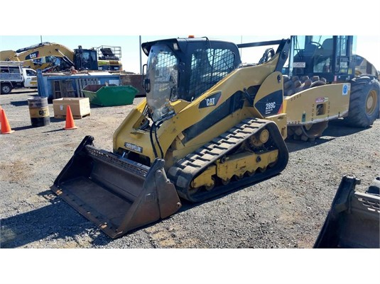 2012 Caterpillar 289C - Heavy Machinery for Sale