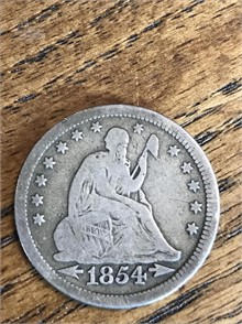 1854 VARIETY 3 SEATED LIBERTY Other Items Auction Results