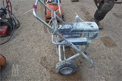 PWERTEX 1200 SF SPRAY RIG Other Auction Results - 1 Listings