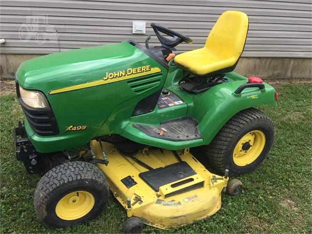 2003 JOHN DEERE X495 For Sale In Wheeler, Illinois | www