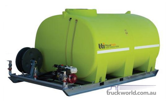 2018 Transtank AQUAPATH 8000L - SLIP-ON WITH HONDA 6.5HP - Heavy Machinery for Sale