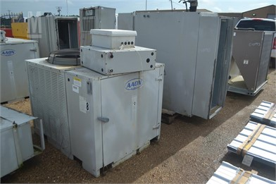 AAON CC100258 A/C UNIT W/ HEATER BOTTOM Other Auction ... on