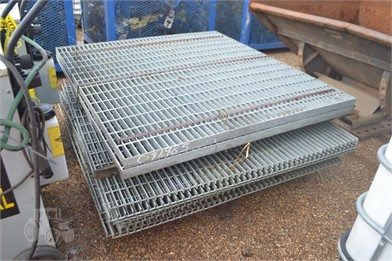 LOT OF GALVANIZE GRATING   Auction Results - 1 Listings