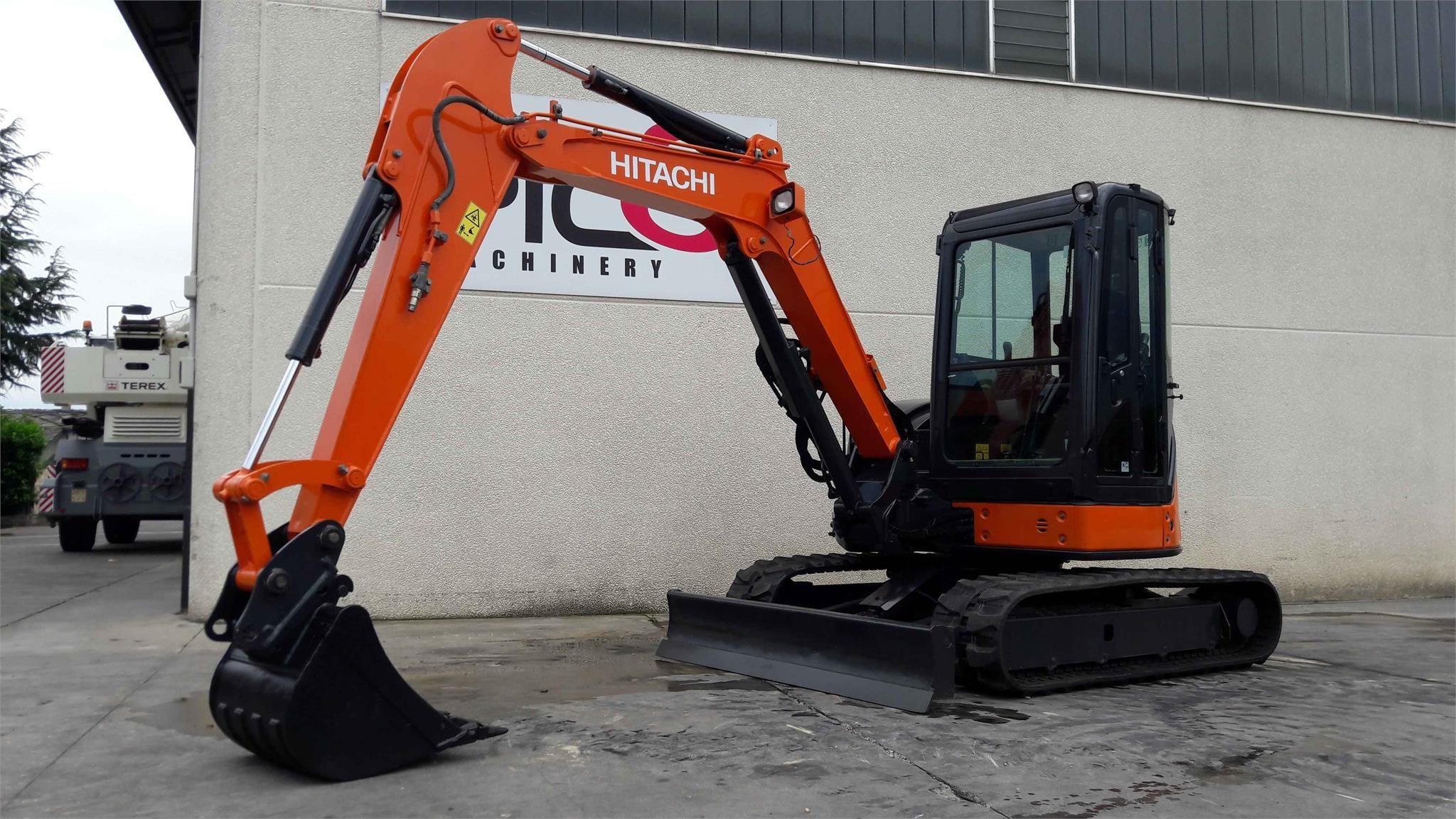 Hitachi ZX48U-3CLR Second-hand