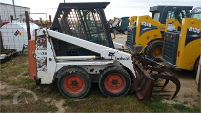 BOBCAT Wheel Skid Steers Auction Results - 682 Listings