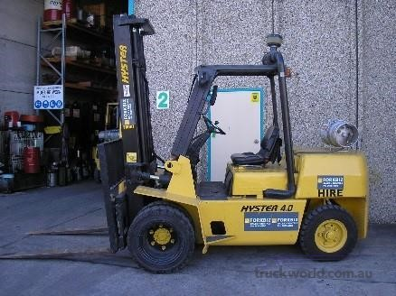 1998 Hyster H4.00XL Forklifts for Sale