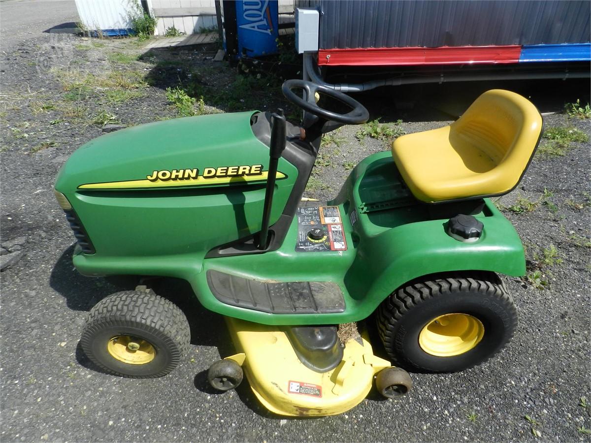 2000 John Deere Lt155 For Sale In Ronkonkoma New York