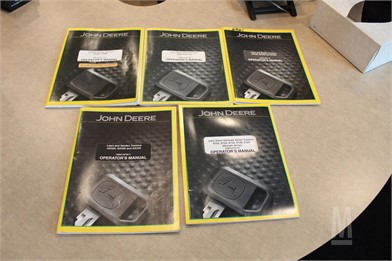 John Deere Manuals Auction Results - 93 Listings