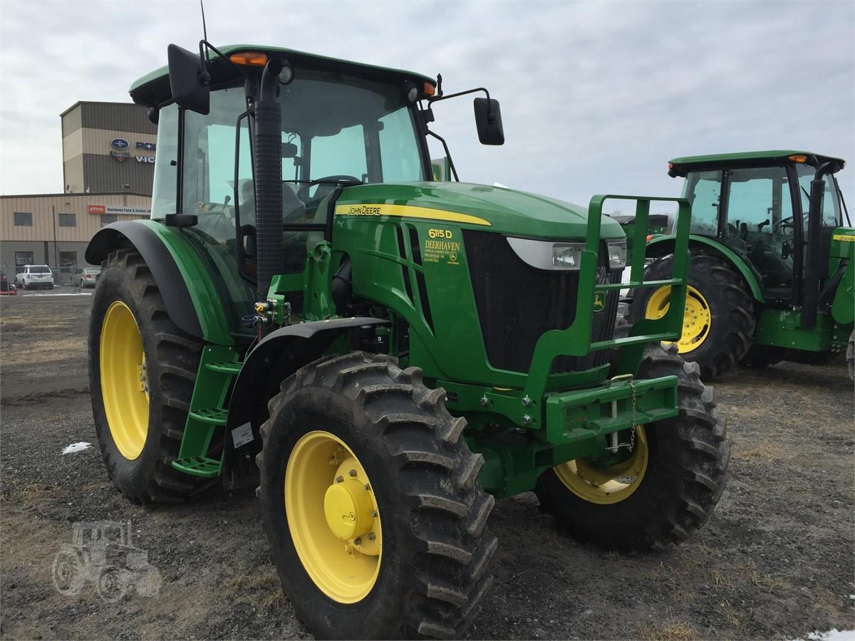 2015 JOHN DEERE 6115D For Sale In Belleville, Ontario Canada |  TractorHouse.com