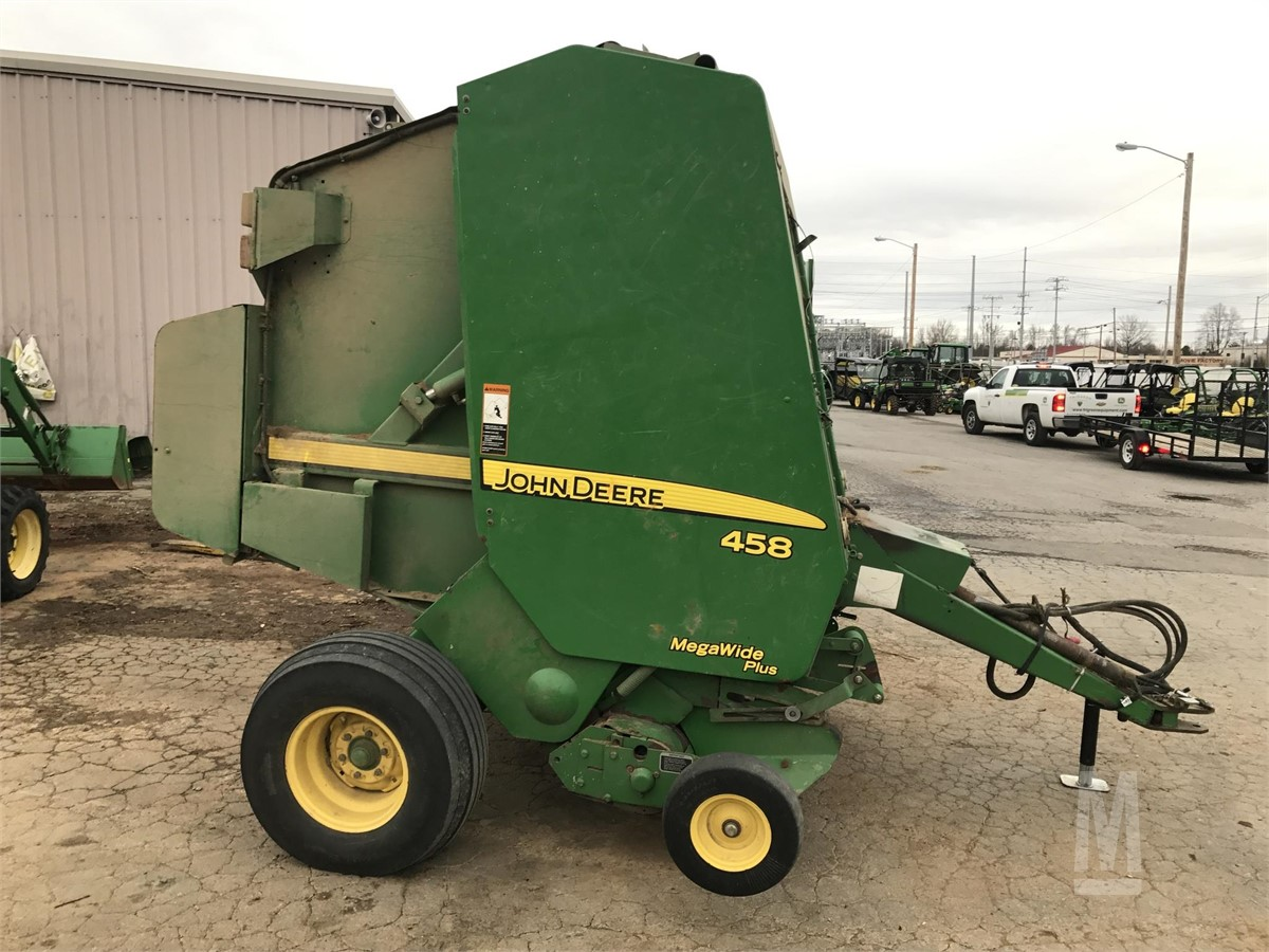 MarketBook co tz | 2007 JOHN DEERE 458 Auction Results