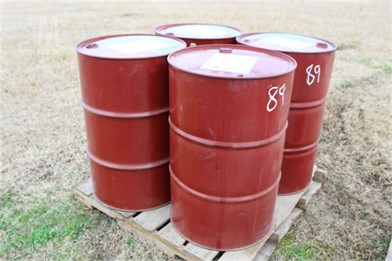 PALLET OF (4) 55 GALLON DRUMS Other Auction Results - 1