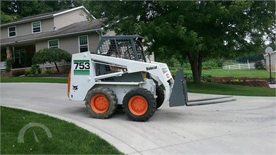 BOBCAT 743 Online Auction Results - 12 Listings