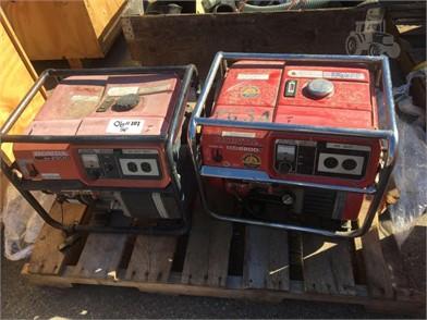 HONDA GENERATORS EM2500 & EM2200X Auction Results - 1