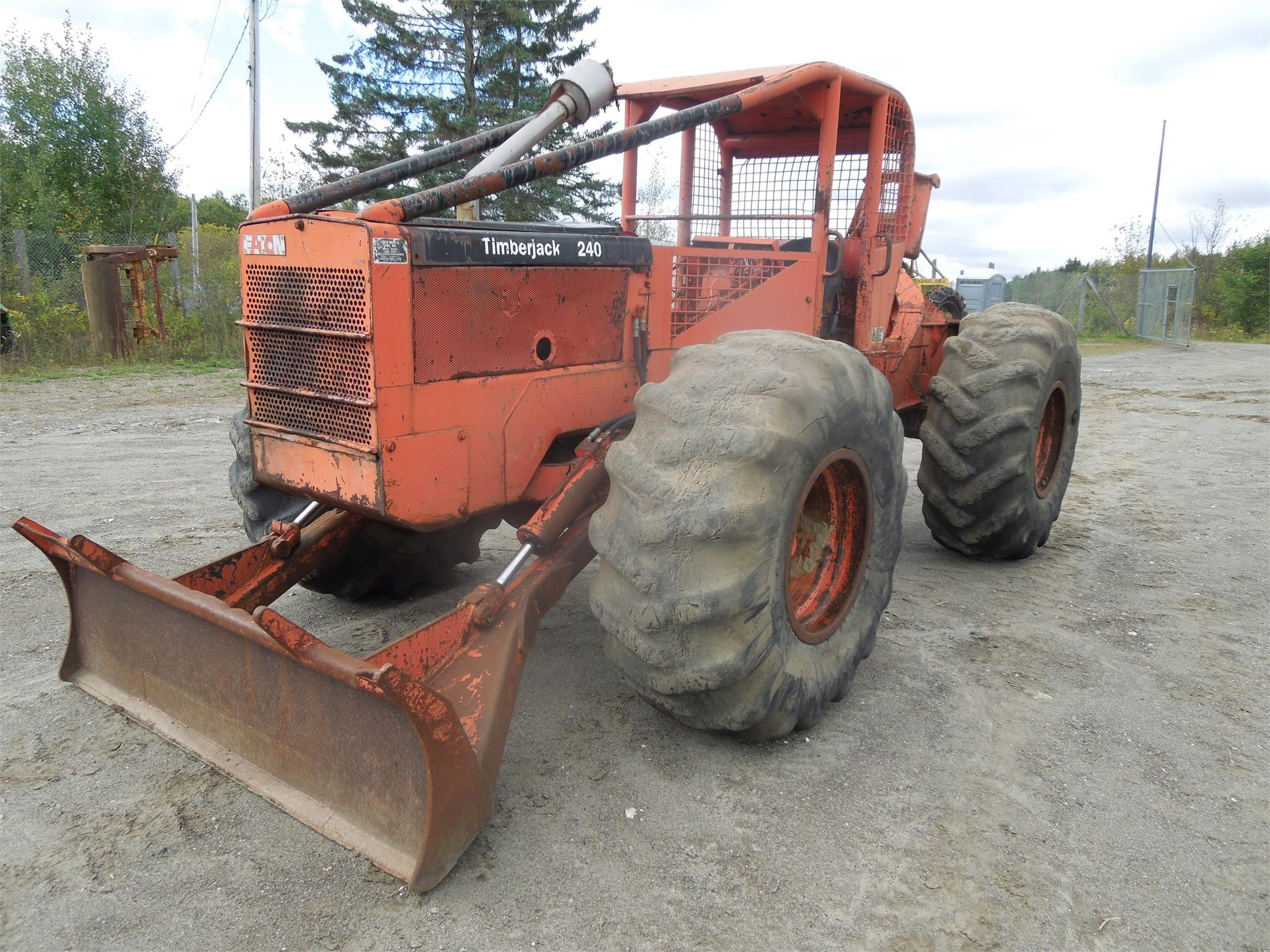 1980 TIMBERJACK 240 For Sale in Colebrook, New Hampshire