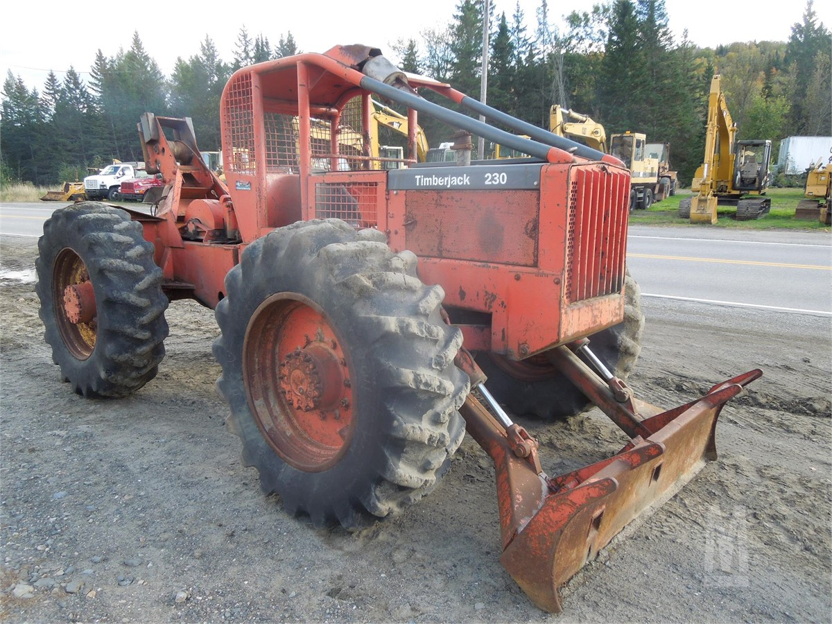 1978 TIMBERJACK 230D For Sale In Colebrook, New Hampshire