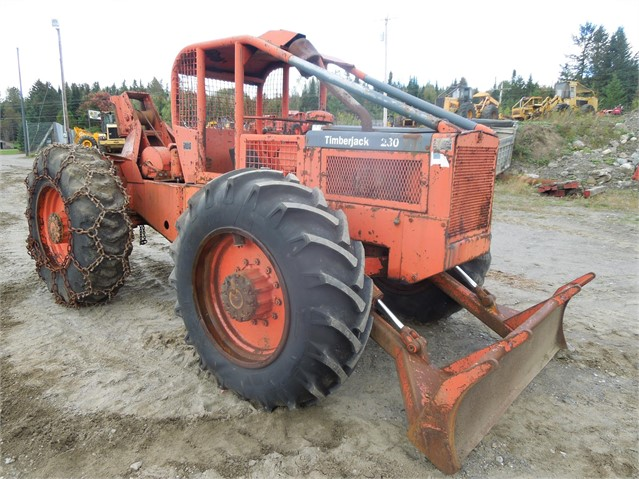 1973 TIMBERJACK 230D For Sale In Colebrook, New Hampshire