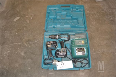 MAKITA 18 VOLT DRILL & IMPACT KIT Other Auction Results - 1