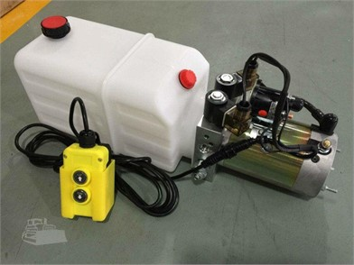 CWS New Double Acting Hydraulic Power Unit Pump Dap12v Auction