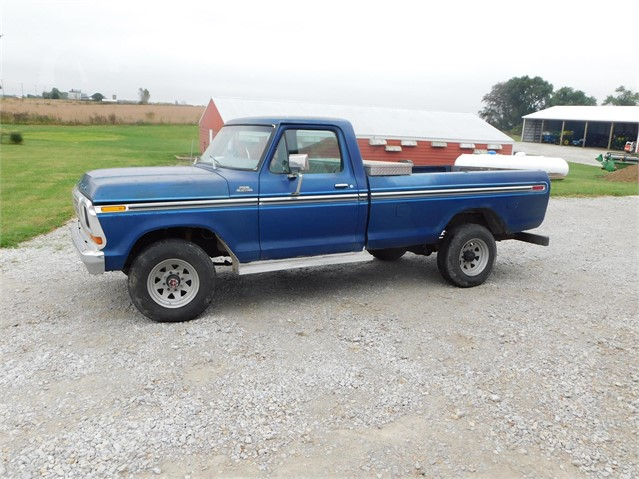 1978 Ford F250 >> Lot 8825 1978 Ford F250