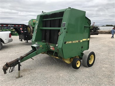John Deere Round Balers Auction Results - 119 Listings