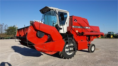 MASSEY-FERGUSON Combines Auction Results - 56 Listings