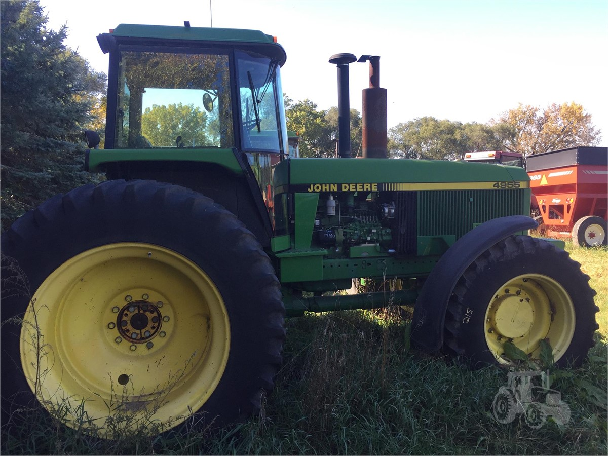 1990 JOHN DEERE 4955 For Sale In Norfolk, Nebraska | www