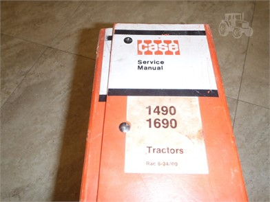 CASE IH SERVICE MANUAL 1490/1690 Auction Results - 1