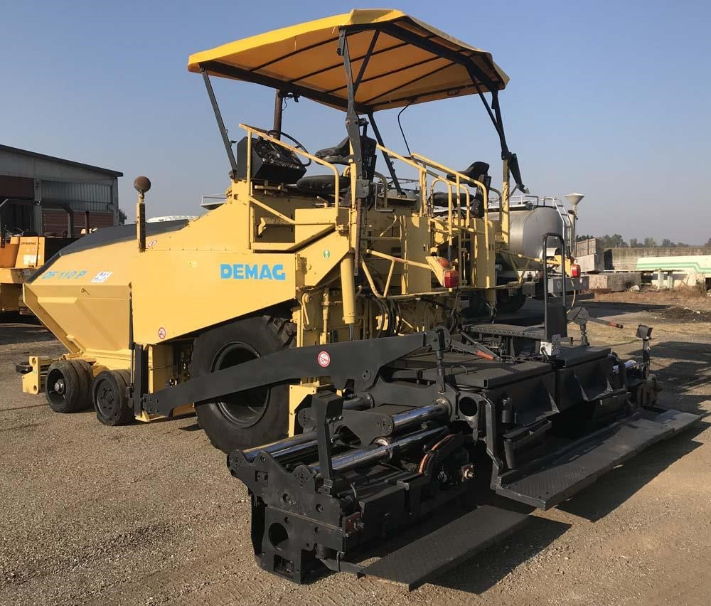 DEMAG DF110P Second-hand
