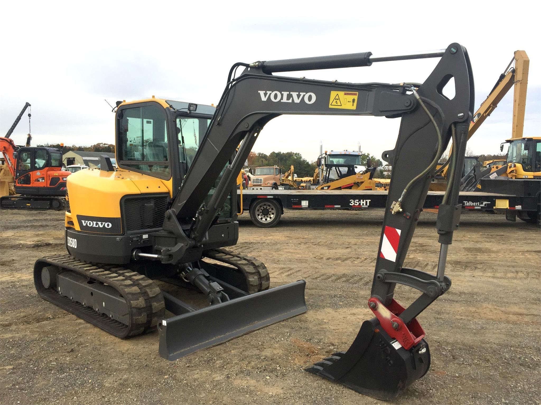 All Volvo Mini / Compact Excavators for Sale   CEG