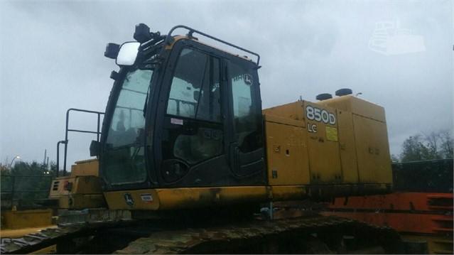 MachineryTrader com   DEERE 850D LC Dismantled Machines
