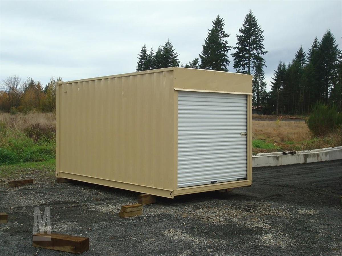 2007 AFFORDABLE 16' CUT DOWN SHIPPING CONTAINERS For Sale In Chehalis,  Washington