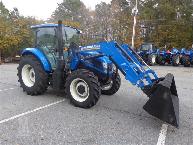 2017 NEW HOLLAND T4 110 For Sale In Cartersville, Georgia