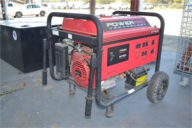POWER PRO 8750W GENERATOR W/ GAS ENGINE-WHEEL MTD Other Auction