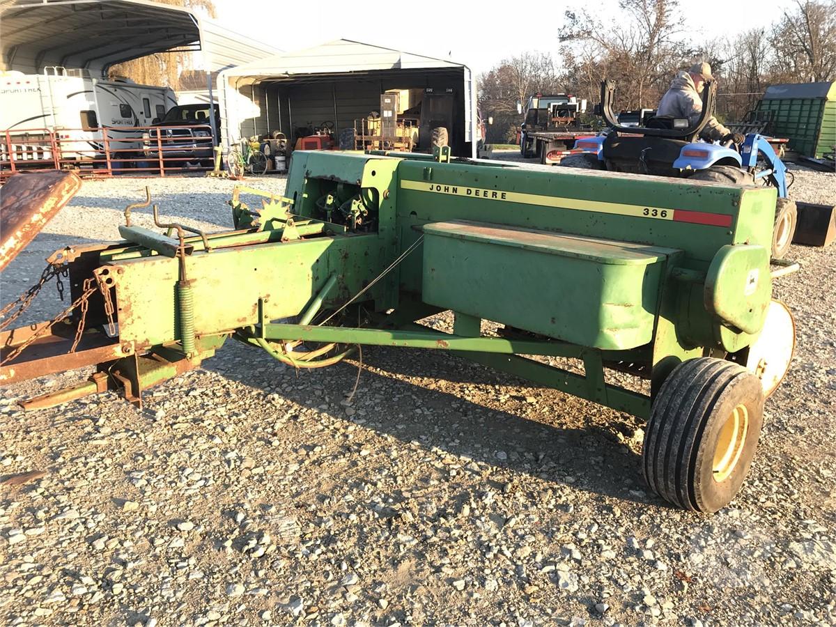 JOHN DEERE 336 For Sale In Sunman, Indiana