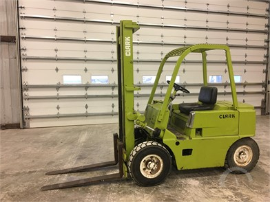CLARK Forklifts Lifts Auction Results - 108 Listings